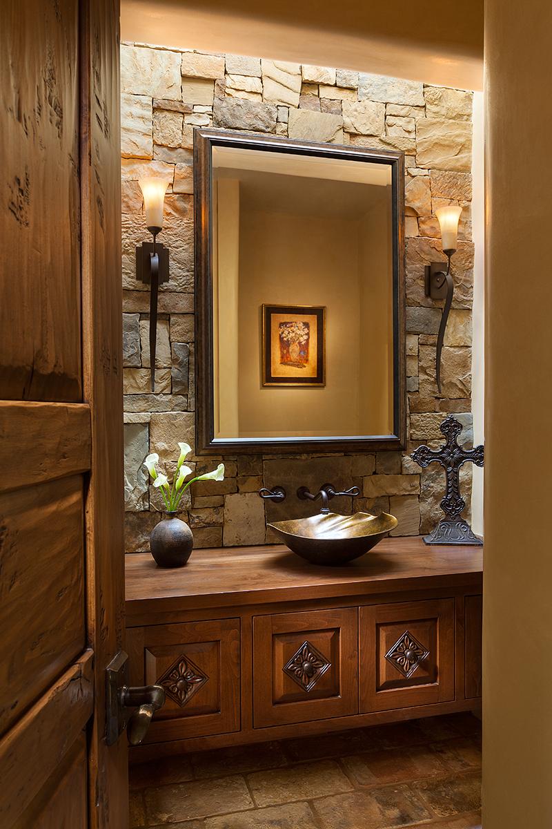 Portfolios archive woods design builders for Santa fe style bathroom ideas