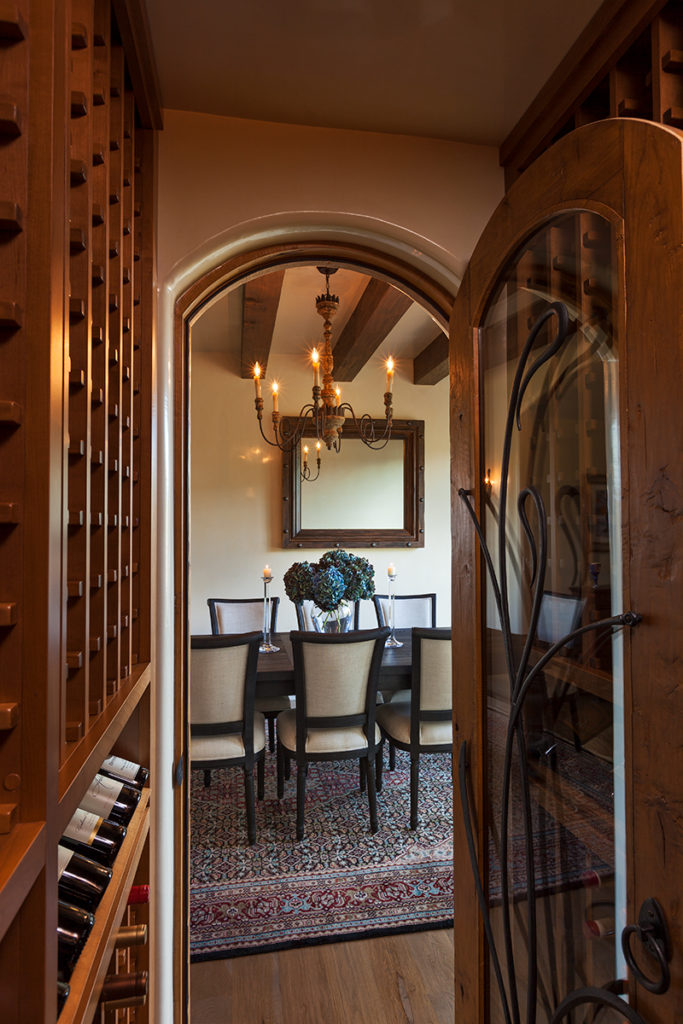 Woods Traditional Wine Room 2216 Wilderness Arroyo