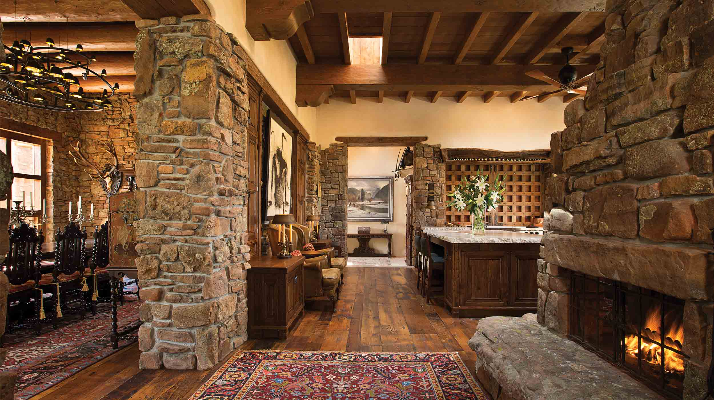 Woods design builders custom home builder santa fe new for Home builders in new mexico