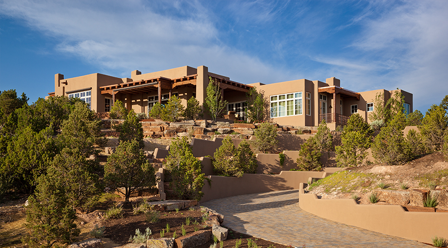 What is santa fe style woods design builders for Santa fe style homes