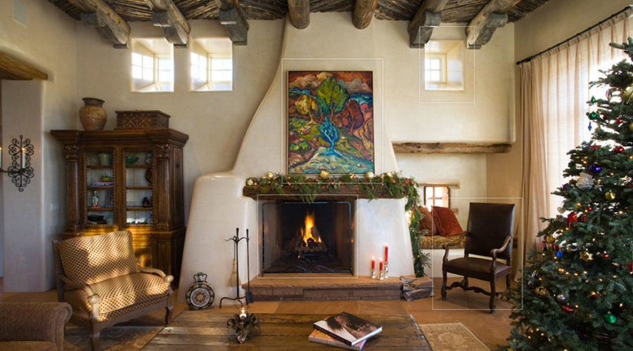Home For The Holidays In Santa Fe Woods Design Builders