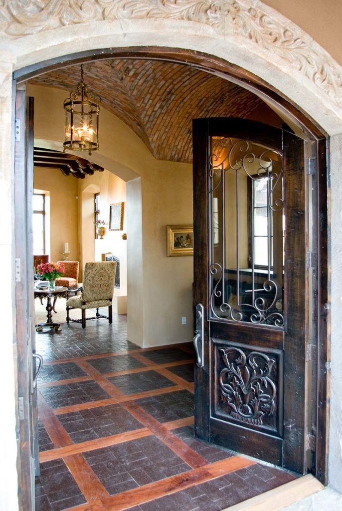 Las Campanas Mexican Hacienda Woods Design Builders