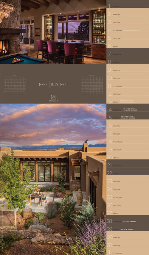 Woods design home builders calendar