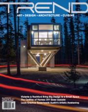 Trend magazine Woods custom built homes Santa Fe NM