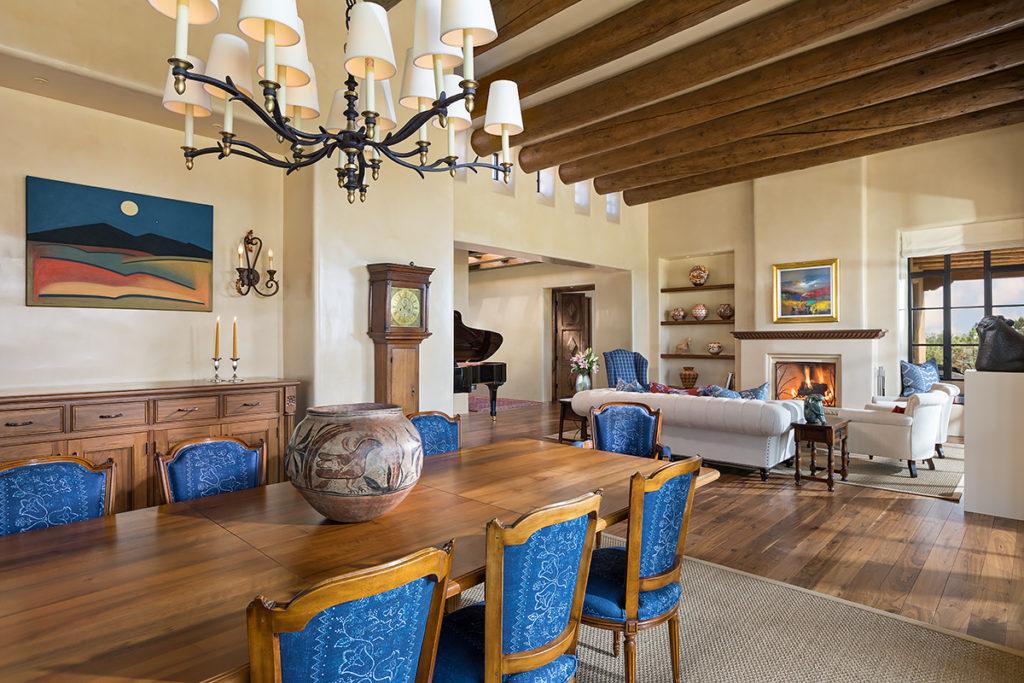 Woods custom homes Santa Fe NM. Photo Wendy McEahern.