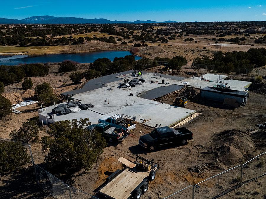 Tesero Enclave Santa Fe custom home build