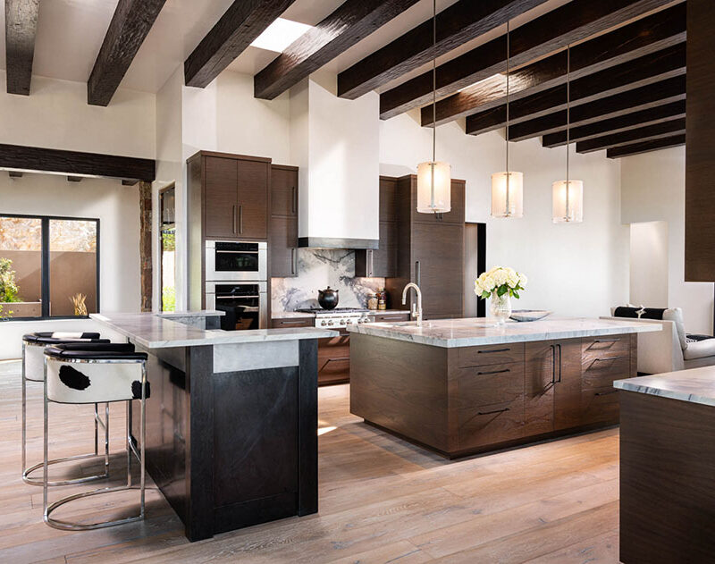 WOODS Santa Fe custom kitchen