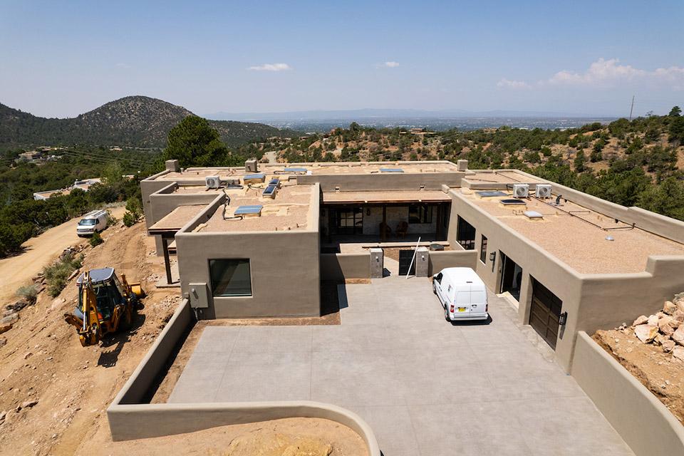 Atalaya Hills custom home builders Santa Fe