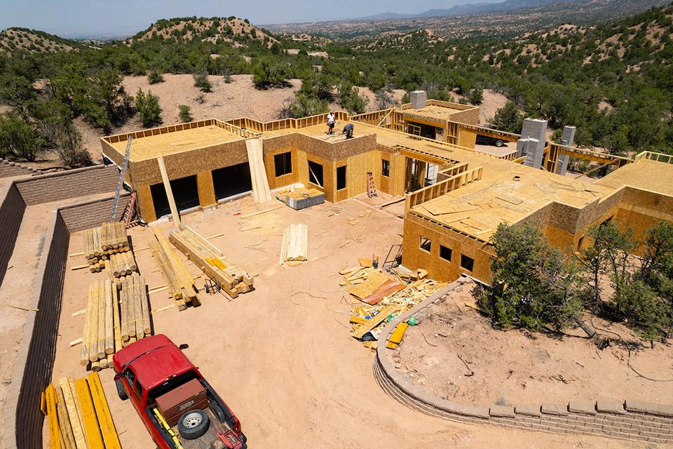 Tesuque Ridge Santa Fe custom home builders