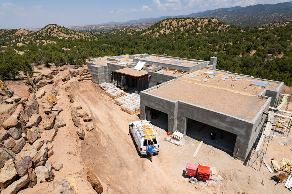 Tesuque Ridge Santa Fe NM custom builders