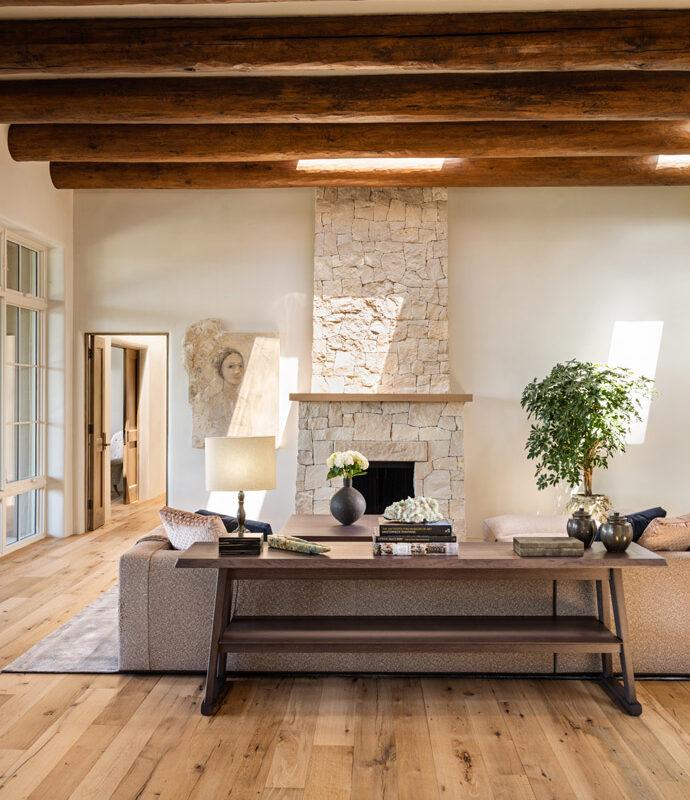 Wilderness View custom home in Santa Fe NM
